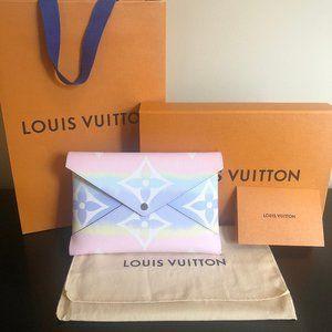 Louis Vuitton ESCALE POCHETTE KIRIGAMI (NIB)